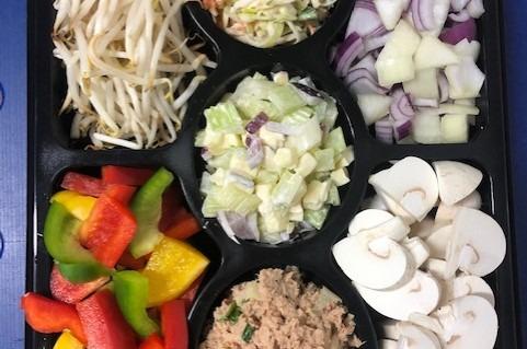 Gourmet groente en salade's