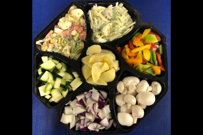 Gourmet groente en salade's 2 personen