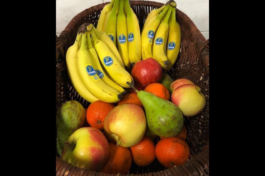 Fruitmand werkfruit